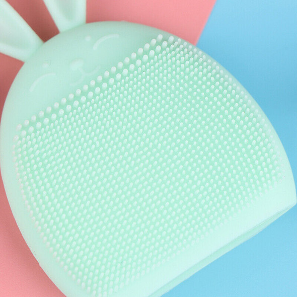 Silicone Face Cleansing Brush Mini Massage Waterproof Facial Cleansing Tool