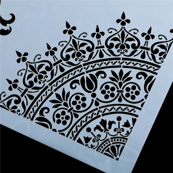 flower layering stencils for walls painting scrapbooking stamp album decorative#