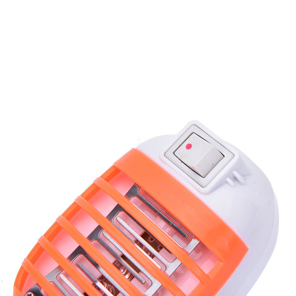 LED Electric Mosquito Fly Bug Insect Trap Zapper Killer Night Lamp USA Plug_3C