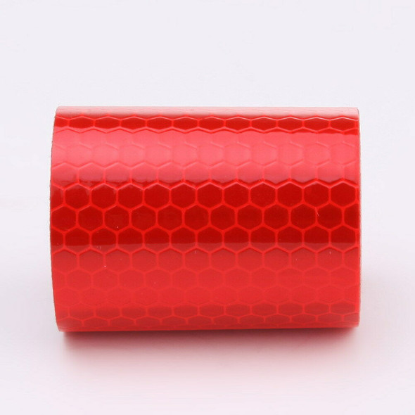 5cm*300cm Reflective Tape Stickers Car Styling For Automobiles Red A#S