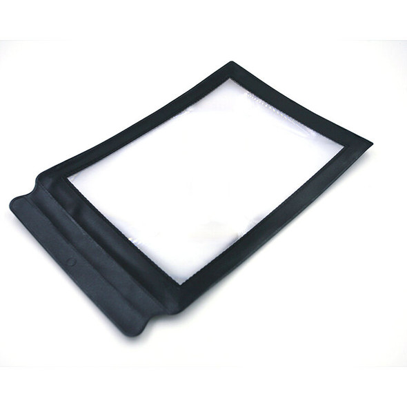 Economic A4 Giant Assisted Reading Magnifying Glass Sheet 3X Magnifier GTBX