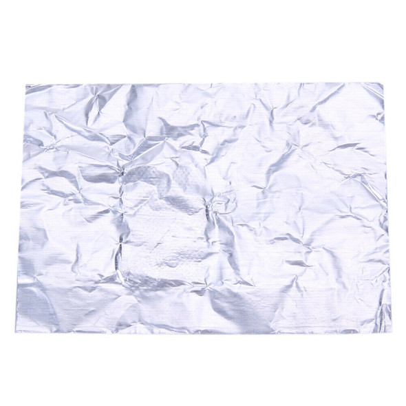 100pcs/bag Nail Art Tool Polish Nail Removal Tinfoil Sheet w/ Cotton inside #JT1