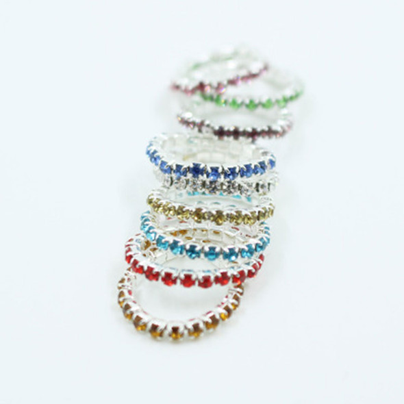 Women Fashion Toe Ring Celebrity Simple  Jewelry Foot Beach Toe Ring Mixed Color
