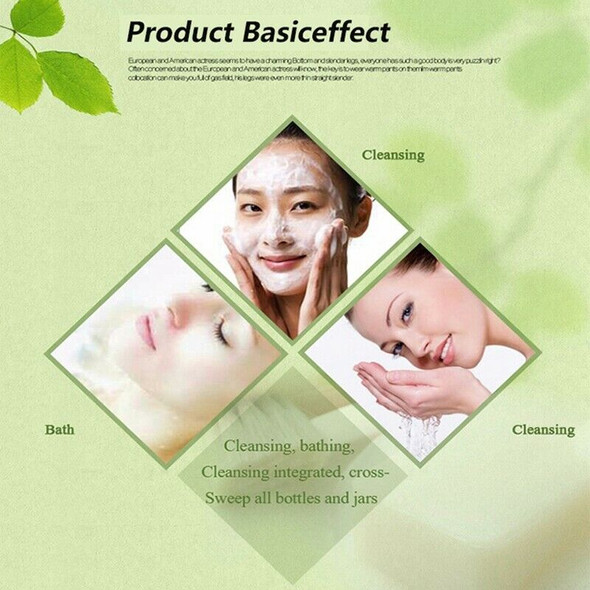 Meiyanqiong Bamboo Charcoal Handmade Soap Whitening Blackhead Remover Acne  O2M2