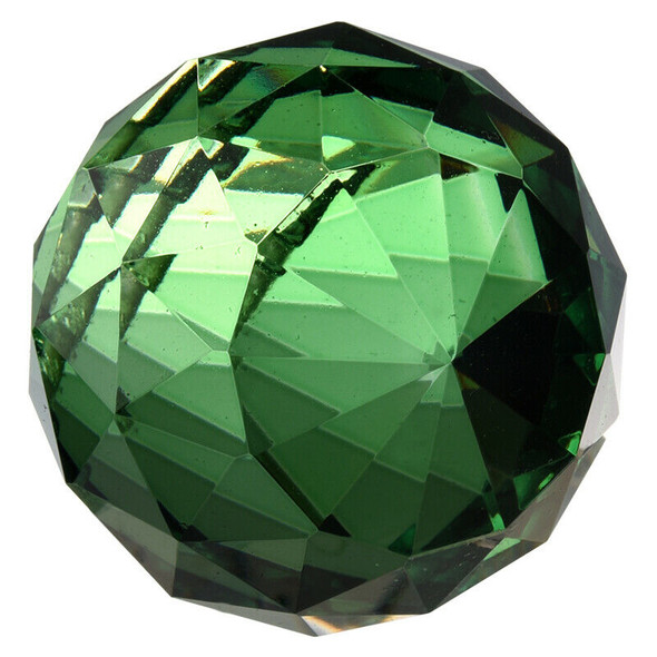 40mm Feng Shui Crystal ball - Green M1B4