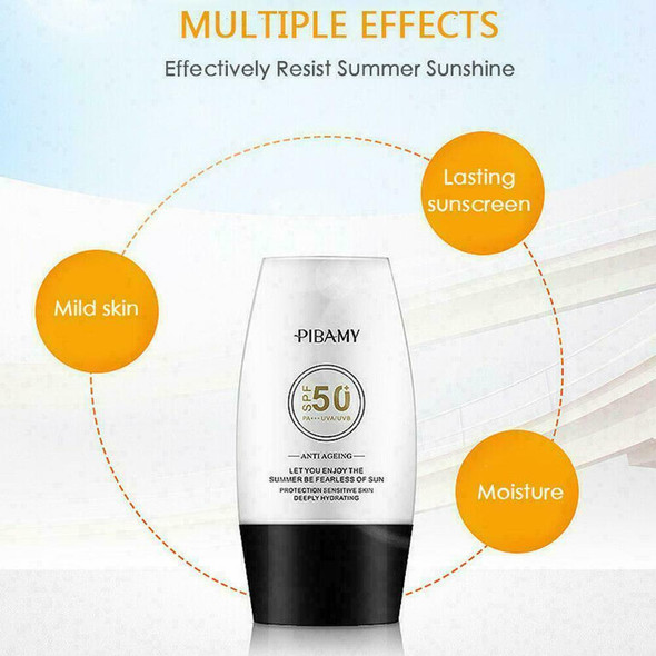 30ml SPF 50 High Protection UV Whitening Sunscreen Sunscreen For Face Body E9C9