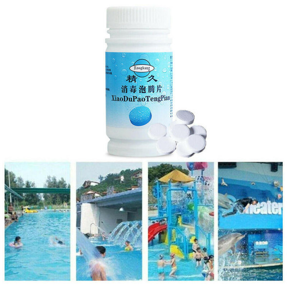 Pool Cleaning Tablet Effectively Guard Bacteria Blgae And Other Organism TLT