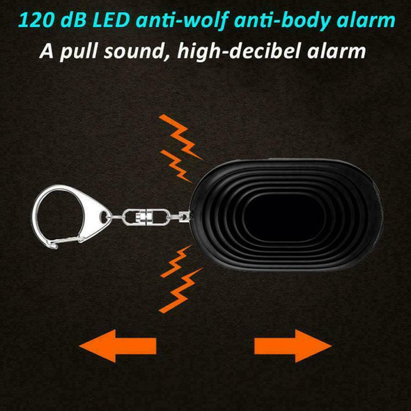 Safety Alarm Security Emergency Police Approved Loud Defens Anti Panic Self V2G5