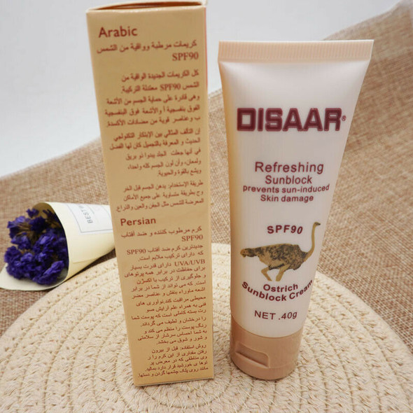 Disaar Snail Sunscreen Spf 90++Isolation Uv Whitening Moisturizing Sunscree I1A4