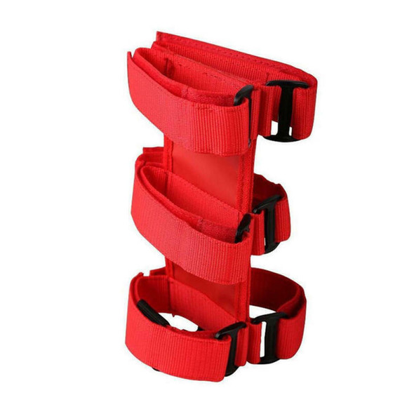 Car Fire Extinguisher Fixed Holder Bracket Belt For Jeep Wrangler Durable fdw