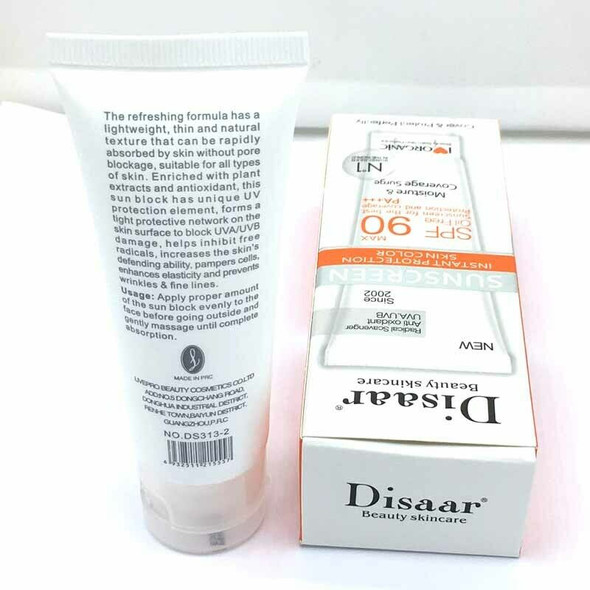 Disaar Skincare Facial Sunscreen With Long Lasting Waterproof Concealer Bb  X3T1
