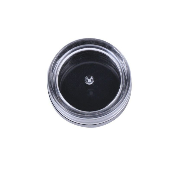 50Pcs Make Up Jar Cosmetic Sample Empty Container Round Lid Plastic Small Bottle