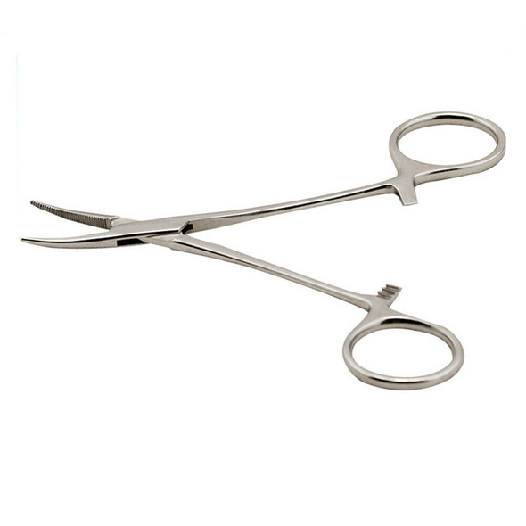 Locking Forceps Curved Mosquito Hemostat Tool 6.3 Inch LW Length New. . U1B5