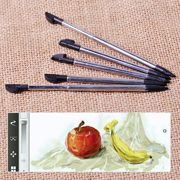 5pcs Retractable Stylus Touch Screen Pen fit for Nintendo 3DS LL XL NDS Console