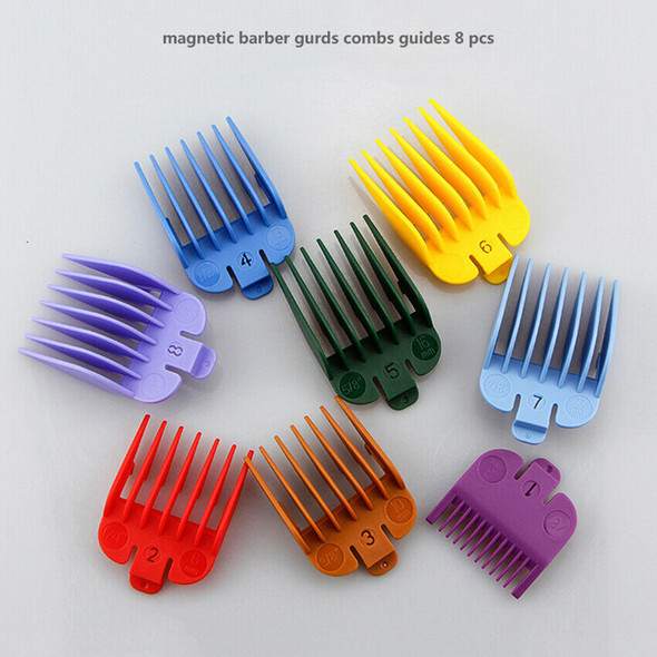 8pcs Hair Clipper Limit Combs Replacement Hair Trimmer Attachment Guide 3-25MM