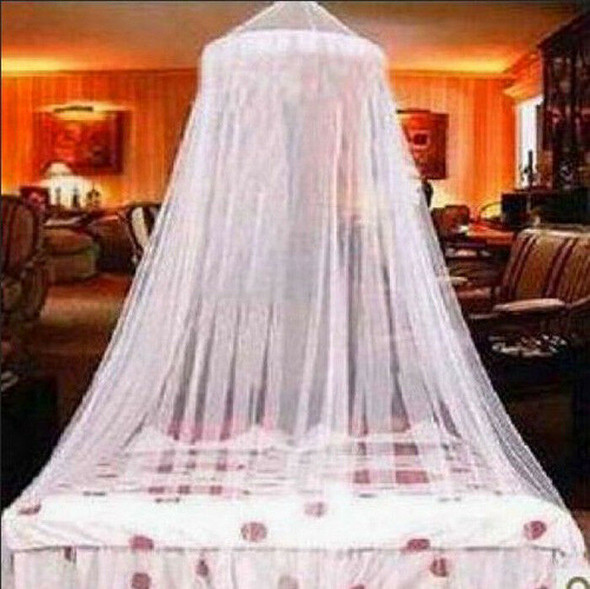 Classic Resort Style King Size White Mosquito Net or Bed Canopy Fits All Bed JR