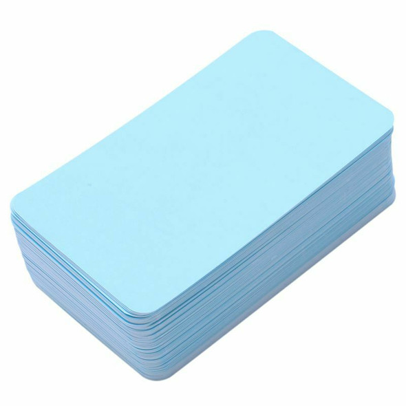 Message Cards Blank Paper Cards for DIY Words Business Small Notepads 100 p T9P8