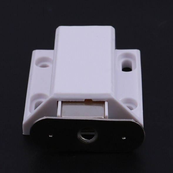 5X( White Push To Open Magnetic Door Drawer Cabinet Catch Touch Latch V8K5)