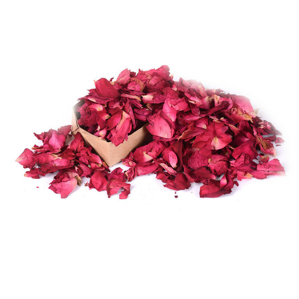 100g Dried Rose Petals Natural Dry Flower Petal Spa Whitening' Shower Bath T BX