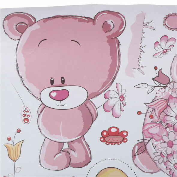 Couple bear wall stickers children room decor baby shower adhesive for kids 3C