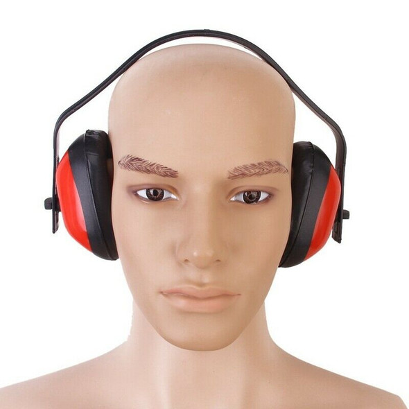 Anti noise Headset Red Foam Noise Reduction Ear Protection A6W4