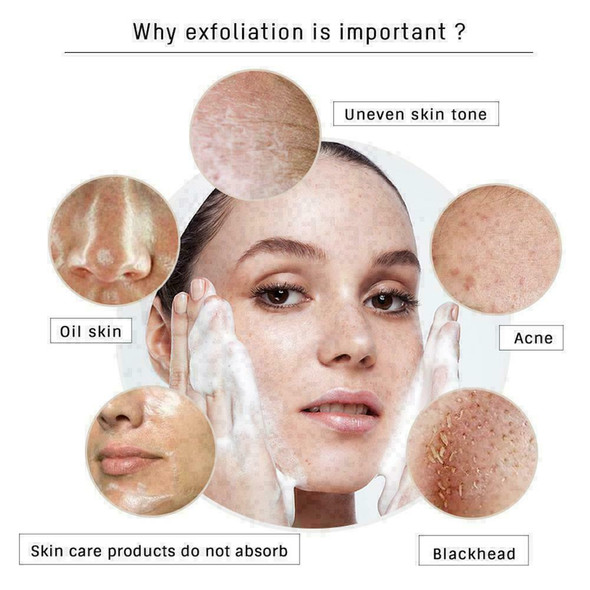 50ml Deep Cleansing Exfoliating Peeling Mousse Removal Scrub H0D8 Facial Ne W2R2
