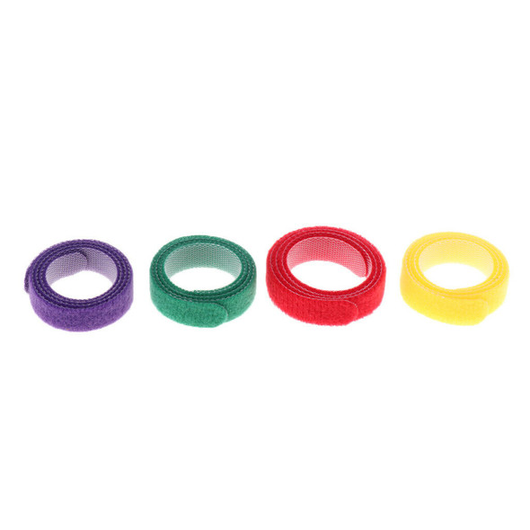 12x Color Tag Whelping ID Collar Bands Pet Puppy Kitten Identification Tags