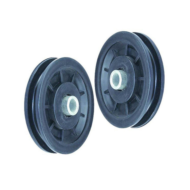 90mm Gym Pulley Replacement w//Bearings Pully Cable Machine  Home Fitness Workout