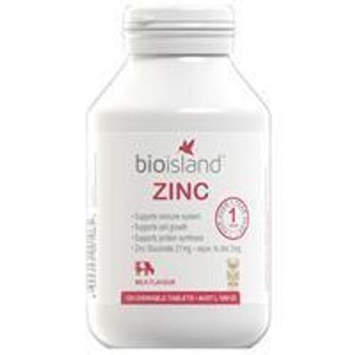 Bio Island Zinc - 120 chewable tablets