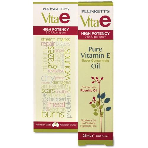 Plunkett's Vita E Pure Vitamin E Oil (25mL Tube)