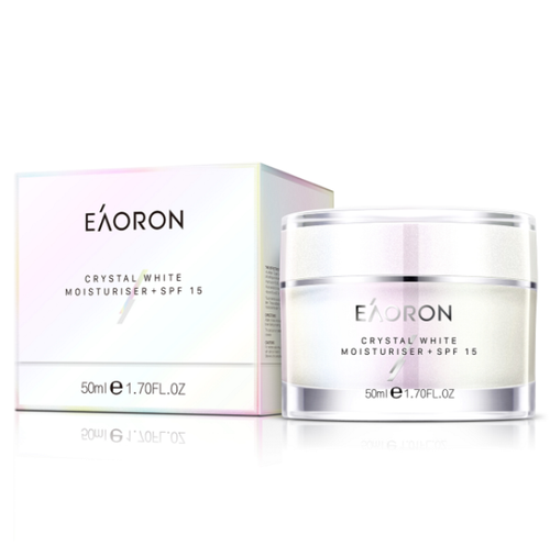 Eaoron Crystal White Moisturiser + SPF15 / 50mL
