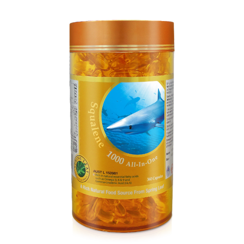 Spring Leaf Squalene 1000 All-In-One 360 Capsules