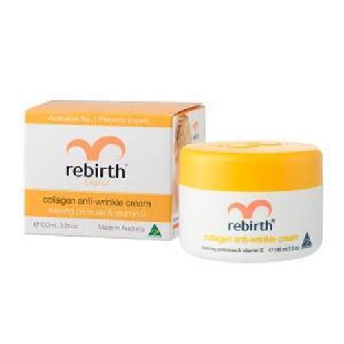 Rebirth Collagen Anti-Wrinkle Cream with Evening Primrose Oil & Vitamin E 100mL