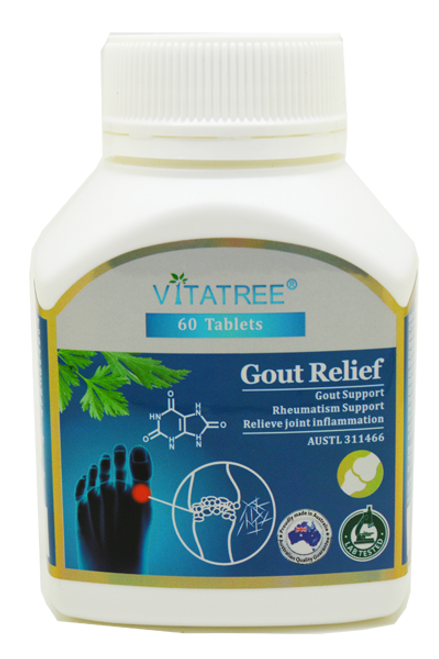 VItatree Gout Relief 60 Tablets