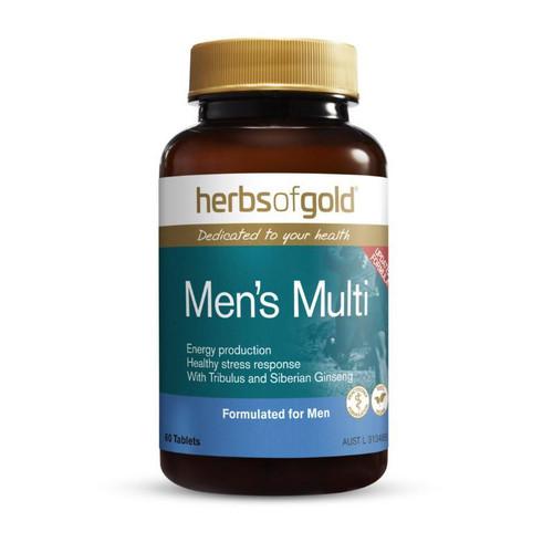 Herbs of Gold Men's Multi 60 Tablets