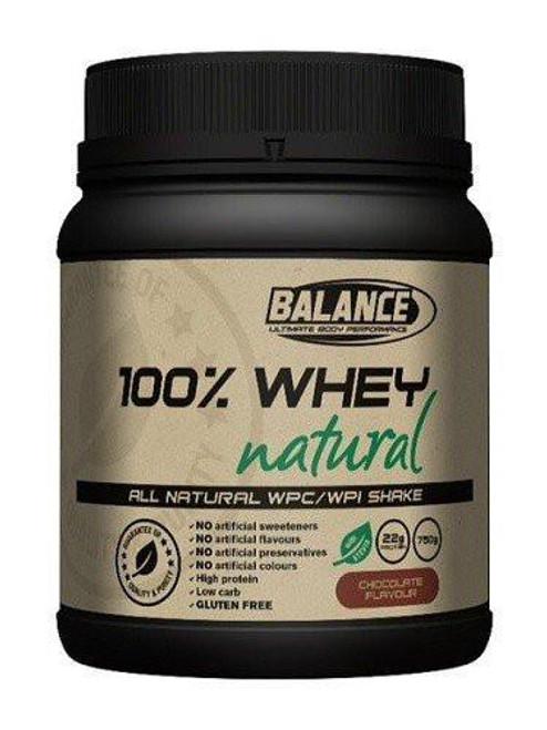 Balance 100% Whey Natural 750g Chocolate