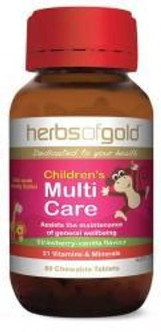 Children's Multi Care-Herbs of Gold 60 capsules