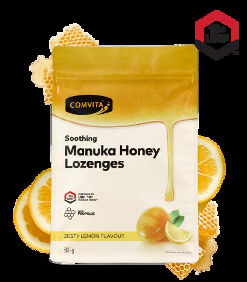 Comvita Manuka Honey Lozenges with Propolis - Lemon Flavour 500g