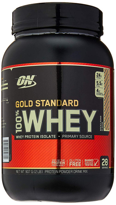Optimum Nutrition 100% Whey 2LBS - 909g Gold Standard Protein Powder WPI (Rocky Road)