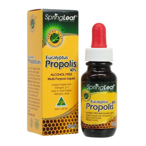 Spring Leaf Propolis Liquid (No Alcohol) 40% 25mL