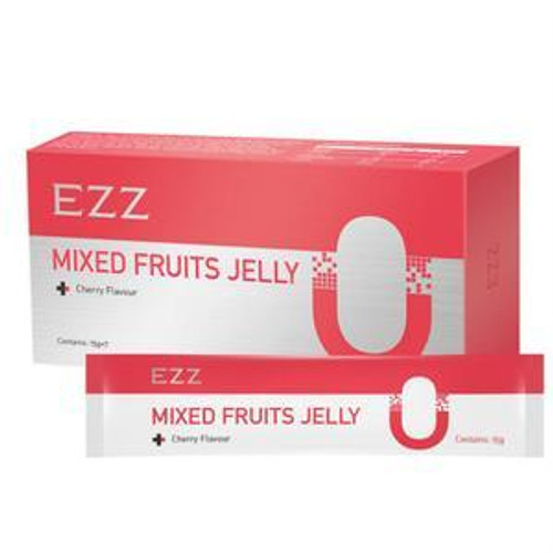 EZZ Mixed Fruits Jelly Cherry Flavour 15g x 7