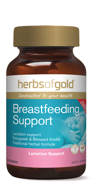 Herbs of Gold Breastfeeding Support  - 60 Tablets