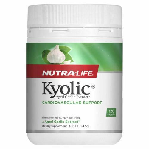 Nutralife Kyolic Aged Garlic Extract 120 Capsules