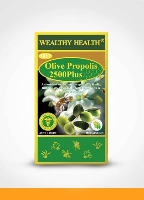 Olive Propolis 2500 Plus / 365 Capsules