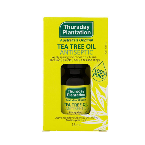 Thursday Plantation Tea Tree Oil 15mL 100% Pure