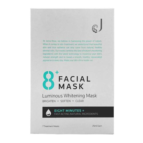 Jema Rose 8+ Facial Mask Luminous Whitening Mask