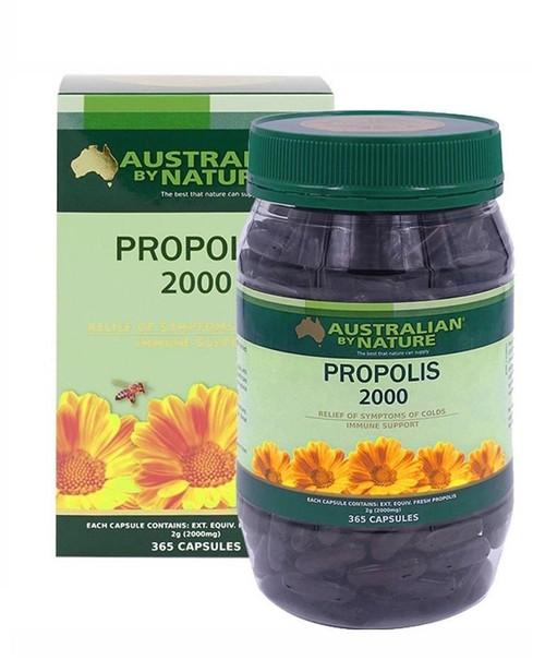 Australian by Nature Propolis 2000mg 365 Capsules