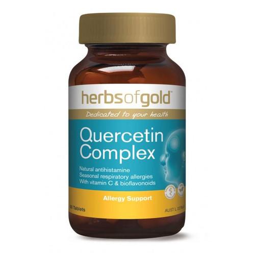 Herbs of Gold Quercetin Complex / 60 Tablets