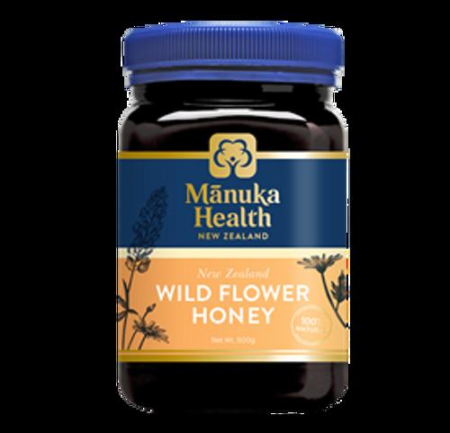 Manuka Health Wild Flower Honey 500g