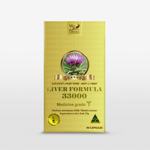 LIVER FORMULA 33000  90 Capsules Well Being Nutrition